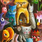 Mysterious Cats by May Ann Licudine