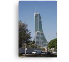 Bahrain Financial Harbour Canvas Print