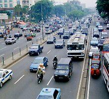 Jakarta Trafic by steppeland