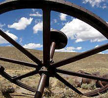 Retired From The Mine ~ Bodie The Ghost Town by Patty Boyte