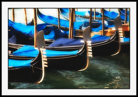 The Waiting Gondolas by Astrid Pardew