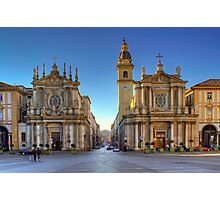 The Twin Churches Photographic Print
