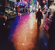 """Stardust"" New York Watercolor by Paul Jackson"