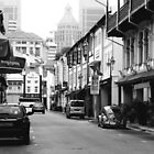 Chinatown in B&W by toffeespin