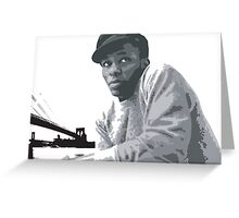 MOS DEF Greeting Card