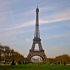 Eiffel Tower, Paris by Hughsey