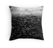 Cold Rush Throw Pillow