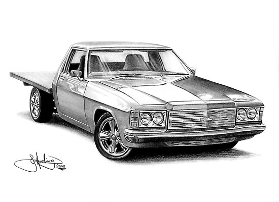 HZ Holden Ute by John Harding