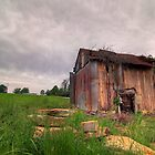 Lone barn by nosamk