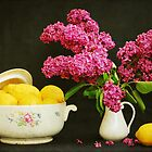 Still Life with Lilac and Lemons by VikaRayu