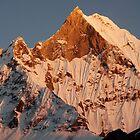 Fishtail mountain by wudzys