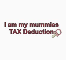 Mummies Tax Deduction - Girl by Scott Westlake
