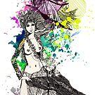 Larni Mautere 1979/2009 [vivid splash version] ♥ by Tiffany Atkin
