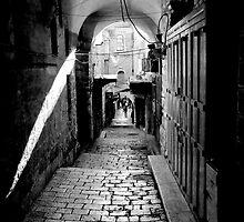 Via Dolorosa by Motti Golan