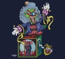 Evil Clown T Shirt Jack in the Box II by bear77