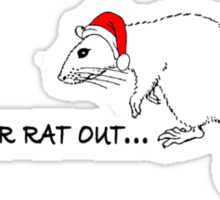 Get your rat out #2 Sticker