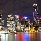 Brisbane CBD from Kangaroo Point 7 by Newsworthy