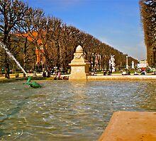 Fontaine De Medicis by Hughsey