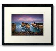The Golden Arch Framed Print