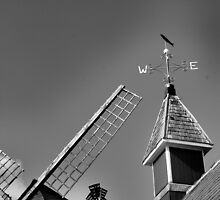 Weather vane and wind mill by shakey
