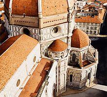 """""""Luce di Firenze"""" the Duomo Watercolor by Paul Jackson"""