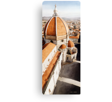 """Luce di Firenze"" the Duomo Watercolor Canvas Print"