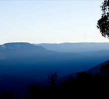 Truly Blue Mountains by Josie Eldred