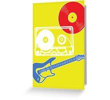 Rock 'n' Roll Greeting Card