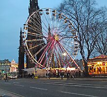 Edinburgh Winter Wonderland by chrismscotland