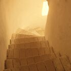 Stairway to the light by Yevgen Pogoryelov