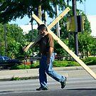 Dragging the Cross by Leta Davenport