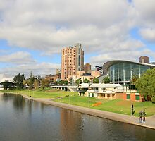 """The River Torrens, Adelaide"" by Gail Mew"