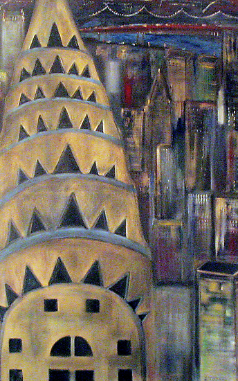 The City  / My  Paintings          by Rick  Todaro