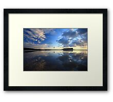 mirror nut......... Framed Print