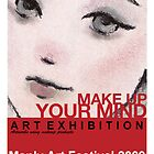 Poster-Make up Your Mind by Laurie Lou McKern