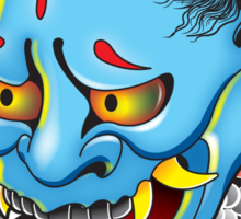 Hanya Demon Mask Sticker