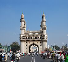 Charminar, Hyderabad, India by AravindTeki