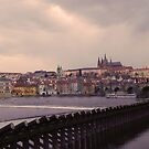 Prague, Charles bridge by Margarit
