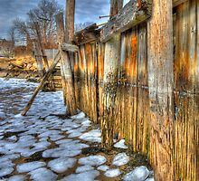 Seawall by Bruce Taylor