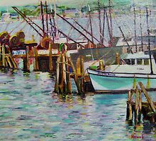 Boats at Rest- Nova Scotia by Richard Nowak