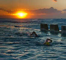 the swimmers by pmacimagery