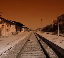 Train Station Ontinyent by katormo