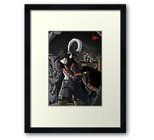 A rainy day on Pirate Bay Framed Print