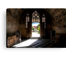 Dom zu Gurk - Shrine of St. Hemma Canvas Print