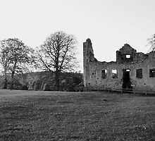 old ruin's at slane. co. meath by Finbarr Reilly