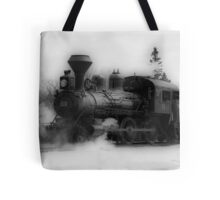 Steam Engine #3 - Prairie Dog Central Railway Tote Bag