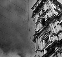 corner icon. melbourne gpo by tim buckley | bodhiimages
