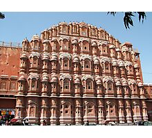 Hawa Mahal, Jaipur landmark, Rajesthan, India Photographic Print