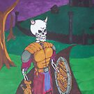 Skeletal Warrior by Dalton Sayre