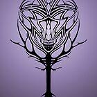 Tribal Alien Tree by Dalton Sayre